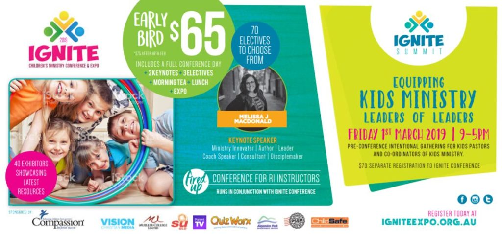 IGNITE – Children's Ministry Conference and Expo @ Mueller College, Rothwell