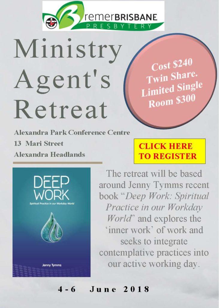 Ministry Agent's Retreat - June 2018 @ Alexandra Park Conference Centre | Alexandra Headland | Queensland | Australia